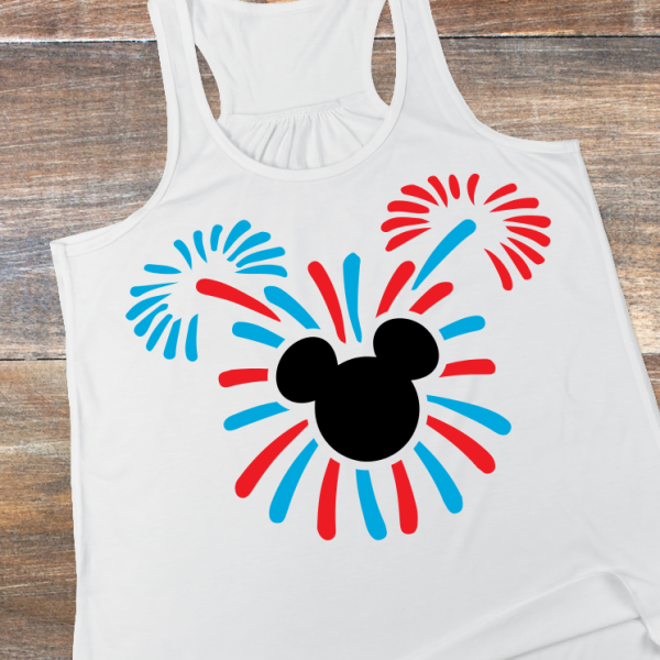 Check out the evening's fireworks with your special shirt!